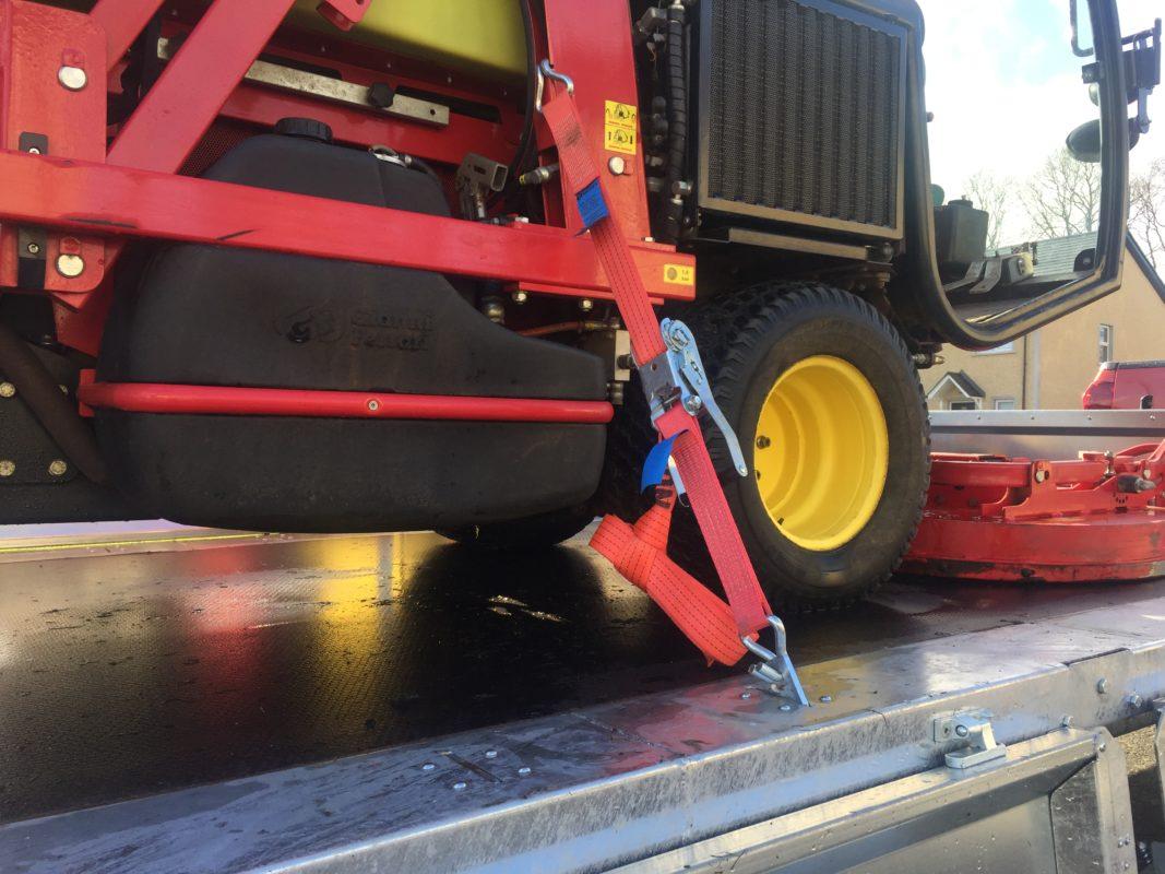 Nugent dieplader voor zwaar transport aanhangwagen robuust
