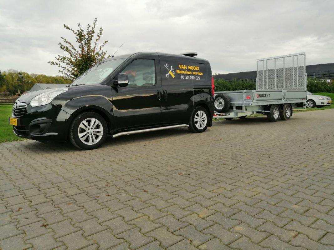 Nugent aanhangwagens Robuust recensies transporter