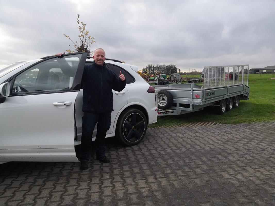 aanhangwagen kopen Nugent kipper open aanhangwagen dieplader transporter aanhanger